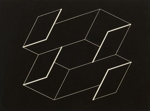 Josef Albers - Ohne Titel (Structural Constellation U-7)