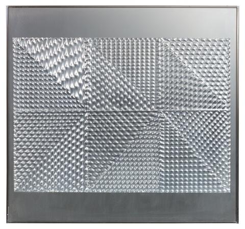 Heinz Mack - Relief mit Dreiecken
