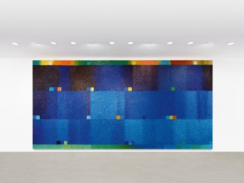 Heinz Mack - Grosses Mosaik (Klang-Farben)