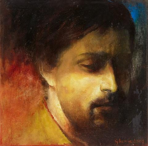 Adrian Ghenie - Untitled (Selbstportrait)