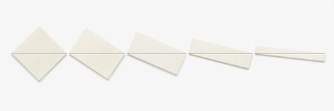 François Morellet - Diagonale-Horizontale