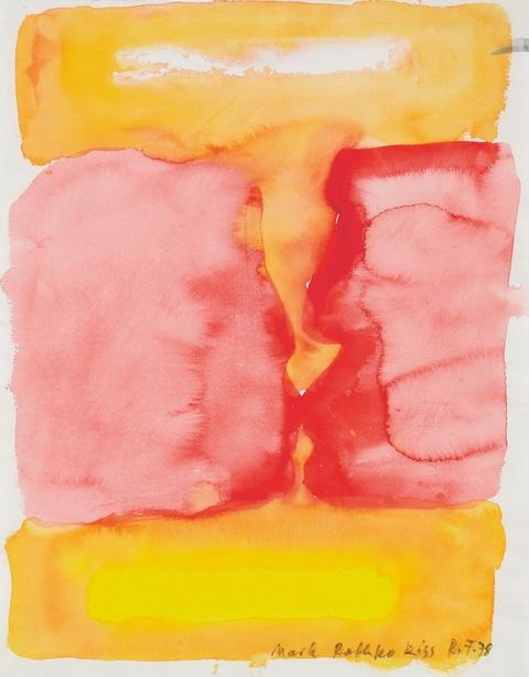 Rainer Fetting - Mark Rothko Kiss