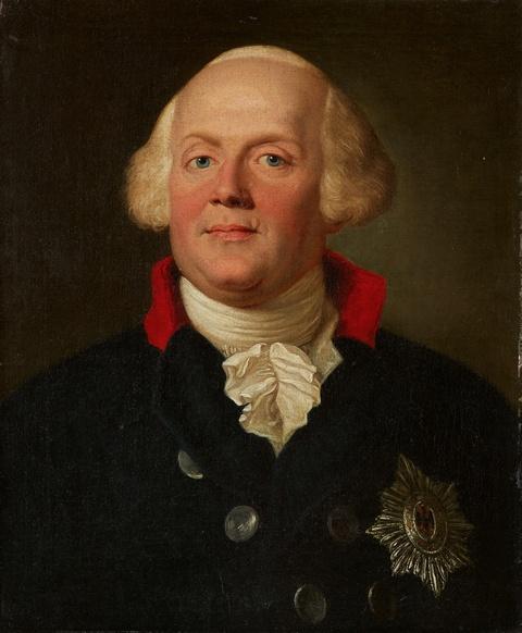 Anton Graff - Bildnis Friedrich Wilhelm II.
