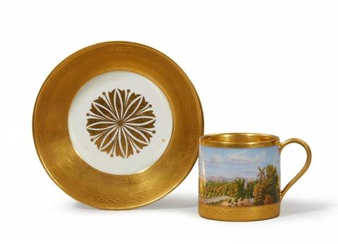 Tasse mit Ansicht von Sanssouci -
