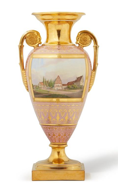 Große Vase mit Bildnis Friedrich Wilhelms IV. -