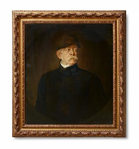 Franz Seraph von Lenbach - Porträt des Fürsten Otto von Bismarck