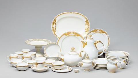 Ceres-Kaffee- und Teeservice für sechs Personen -
