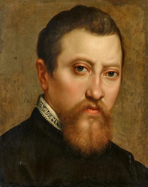 Italienischer Meister des frühen 17. Jahrhunderts - Bildnis eines Mannes