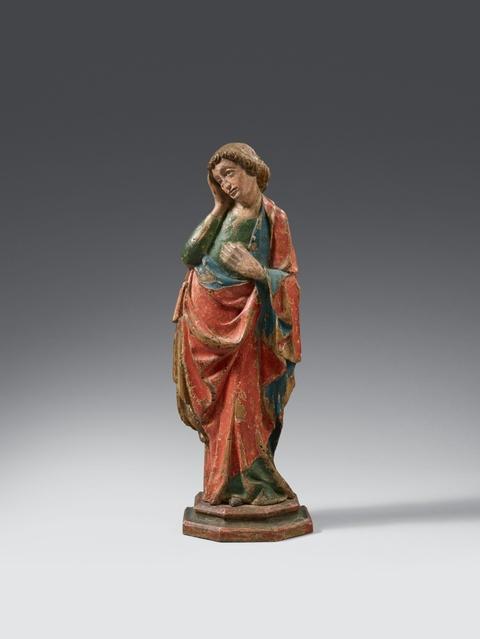 Wohl Schwaben Anfang 15. Jahrhundert - Trauernder Johannes