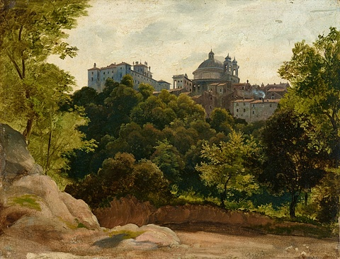 Ernst Fries oder Johann Heinrich Schilbach - Ansicht von Ariccia