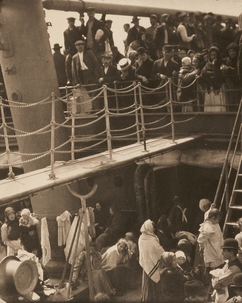 Alfred Stieglitz - The Steerage