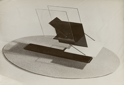 Hein Gorny - Raum-Konstruktionen (Plastik für einen Fliegerplatz)