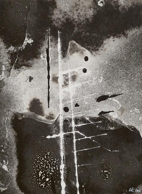 Chargesheimer (Karl Hargesheimer) - Lichtgrafik. Monoskripturen