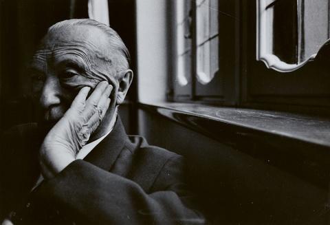 Will McBride - Konrad Adenauer in Cadenabbia