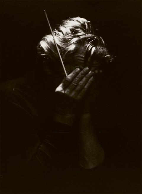 Robert Lebeck - Herbert von Karajan, St. Moritz