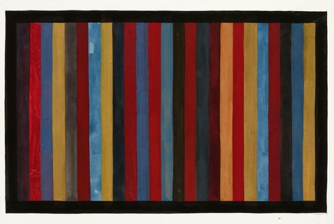 Sol LeWitt - Ohne Titel (Vertical Bands of Color)