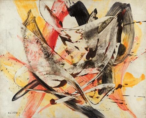 Karl Otto Götz - Untitled (9.5.1954)