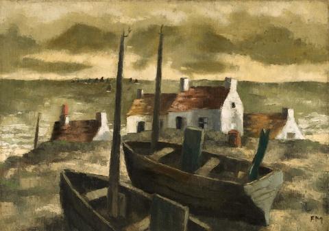 Frans Masereel - Equihen (Paysage d'Equihen)