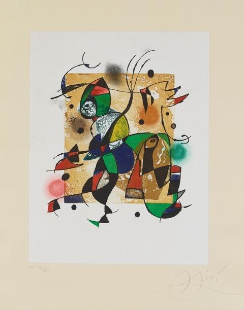 Joan Miró - Gaudí XVI