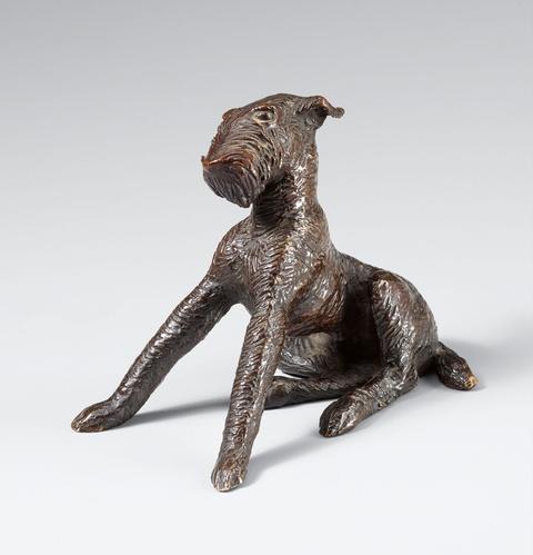 Renée Sintenis - Junger Hund (Junger sitzender Terrier)