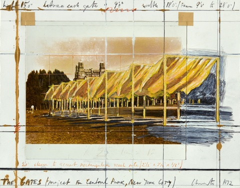 Christo - The Gates. Project for Central Park, New York City