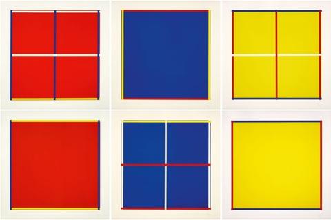 Imi Knoebel - Rot, Gelb, Weiß, Blau