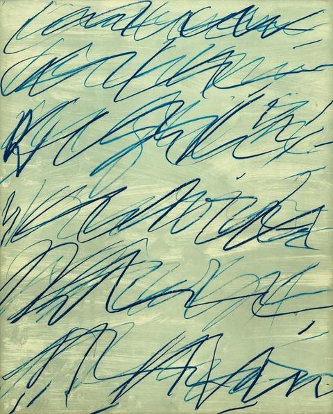 Cy Twombly - Roman Notes I