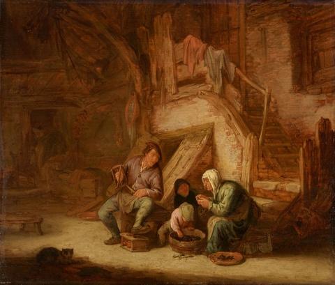 Adriaen van Ostade - Bauernfamilie