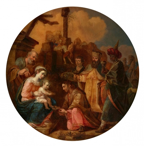 German School 17th century - The Adoration of the Magi