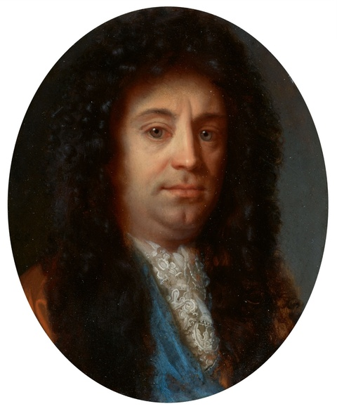 Godefridus Schalcken - Bildnis eines Mannes mit Perücke