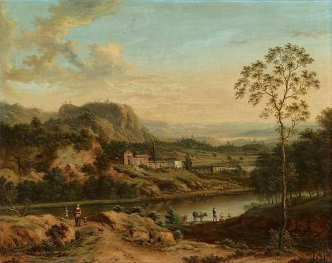 Johann Christian Vollerdt - River Landscape