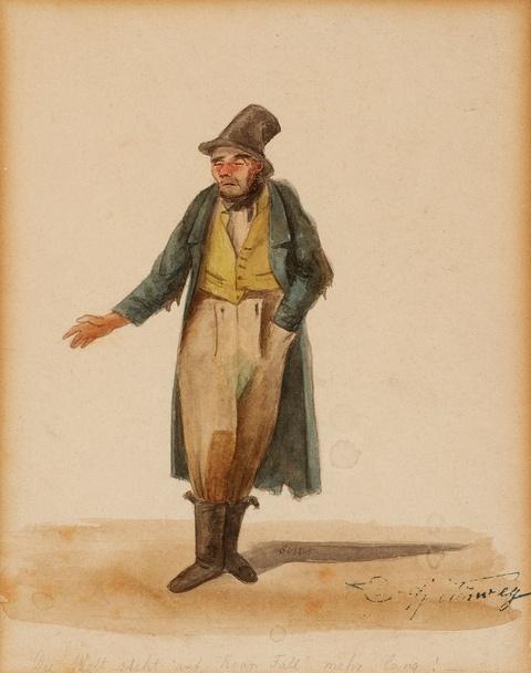 Carl Spitzweg - Der Lumpenhändler