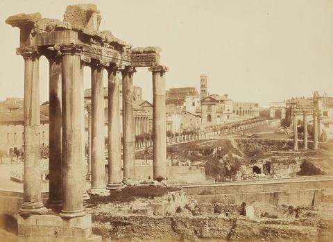 Tommaso Cuccioni - Temple of Saturn, Roman Forum