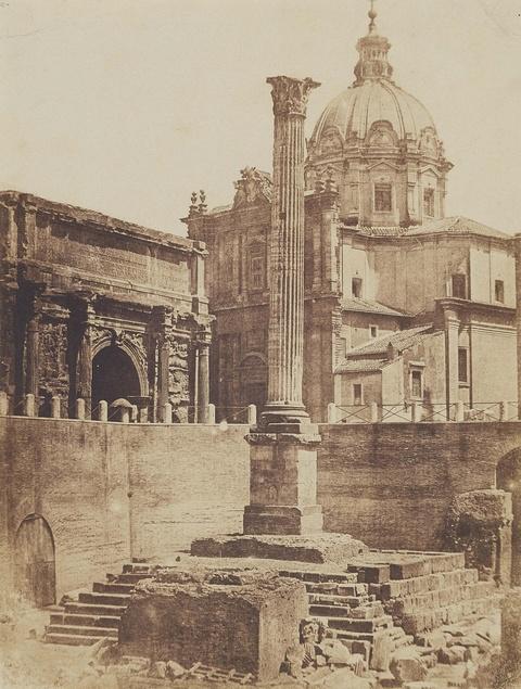 Giacomo Caneva - Phokas-Säule, Forum Romanum