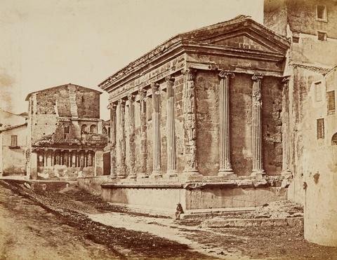Eugène Constant - Der Tempel der Fortuna Virilis