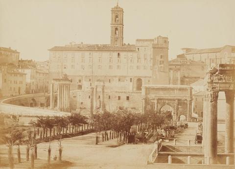 Tommaso Cuccioni - Roman Forum with the Capitol
