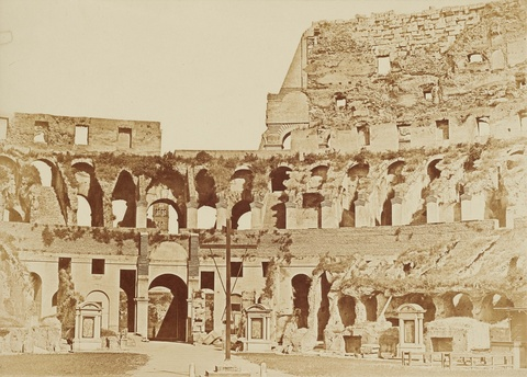 Anonymous - Interior View of the Colosseum