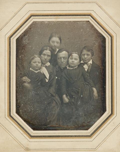 Anonymous - Pastor Eduard Hofmeister und seine Familie, Weferlingen