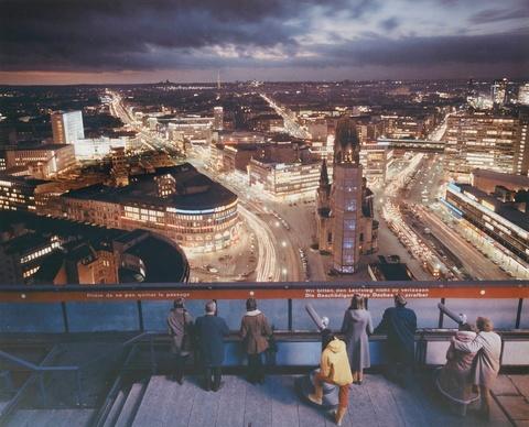 Ludwig Windstosser - Blick vom I-Punkt auf die Stadt, Berlin