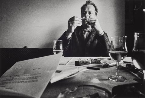 Will McBride - Willy Brandt beim Frühstück