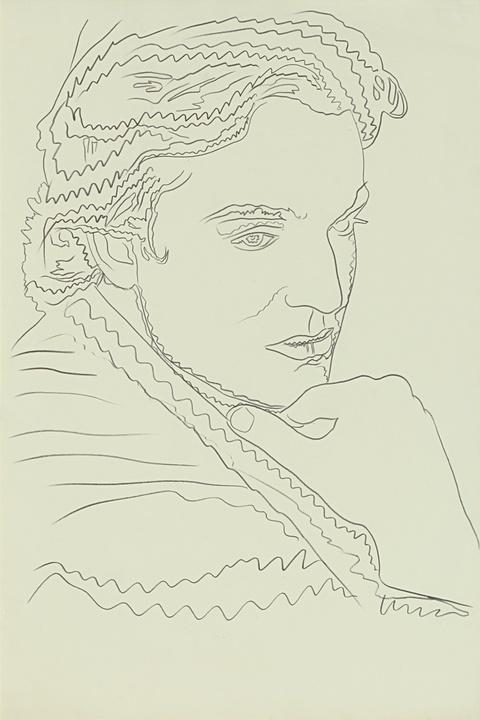 Andy Warhol - Jamie Wyeth