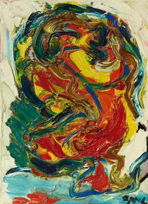 Karel Appel - Red Bush Man