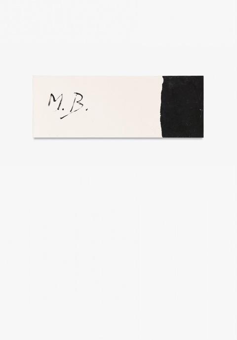 Marcel Broodthaers - Ohne Titel