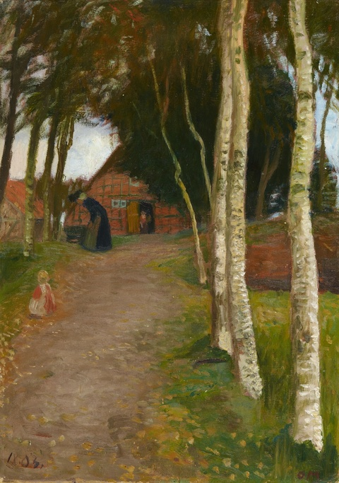 Otto Modersohn - In Worpswede
