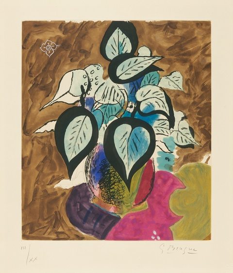 Georges Braque - Feuillage en couleurs