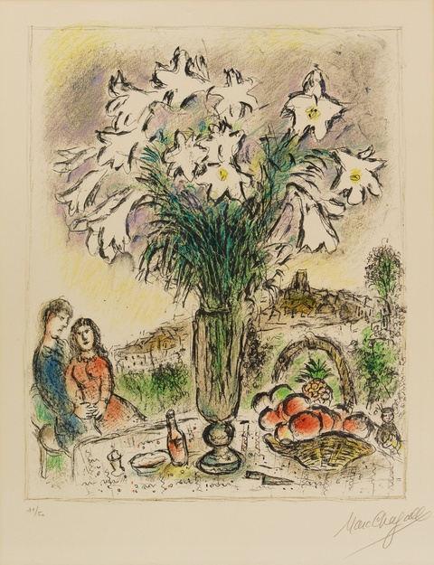 Marc Chagall - Les Arums