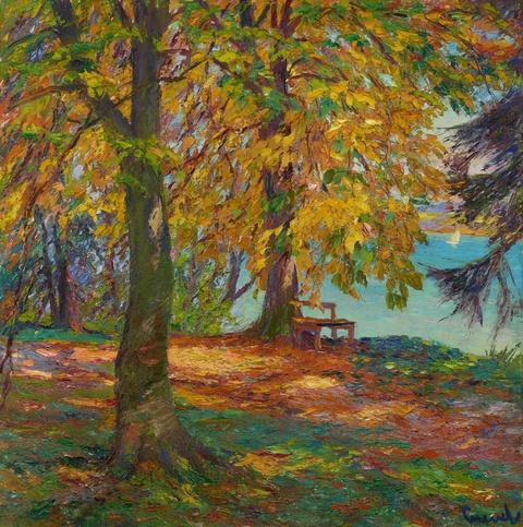 Edward Cucuel - Herbstlandschaft