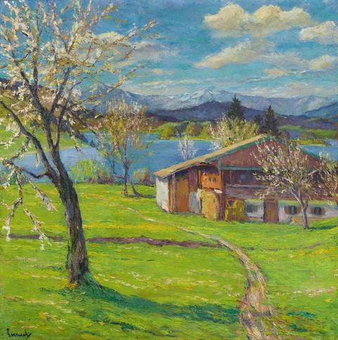 Edward Cucuel - Blausee