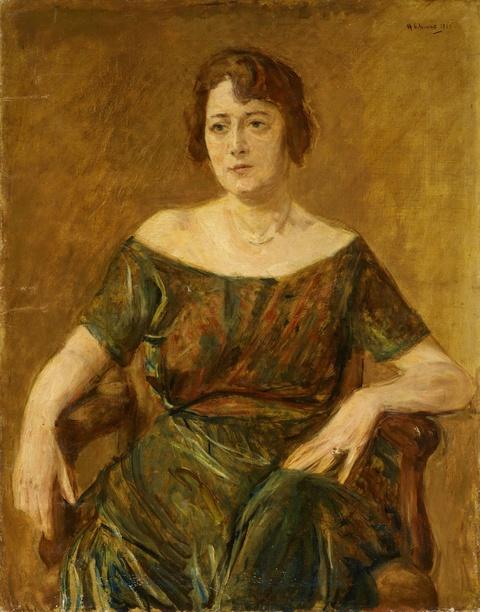 Max Liebermann - Portrait Ella Weidmann