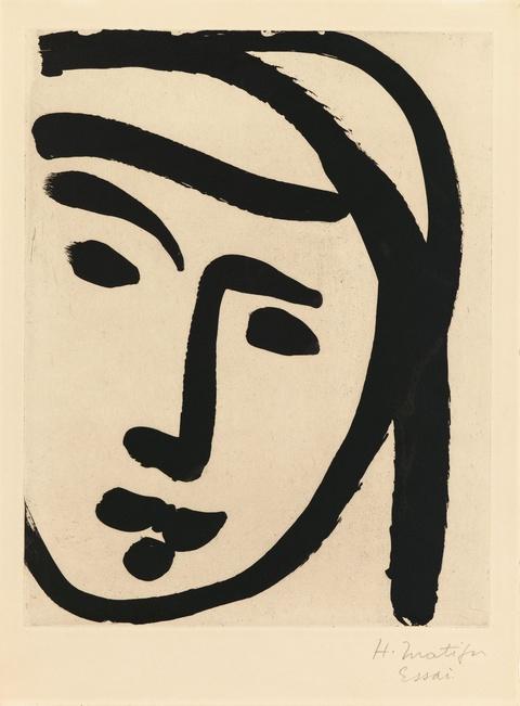 Henri Matisse - Bédouine au large visage